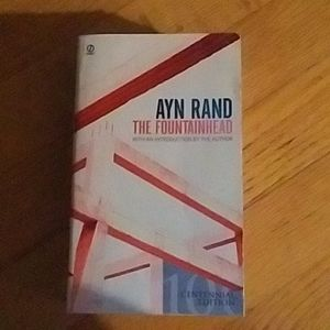 The Fountainhead Ayn Rand book